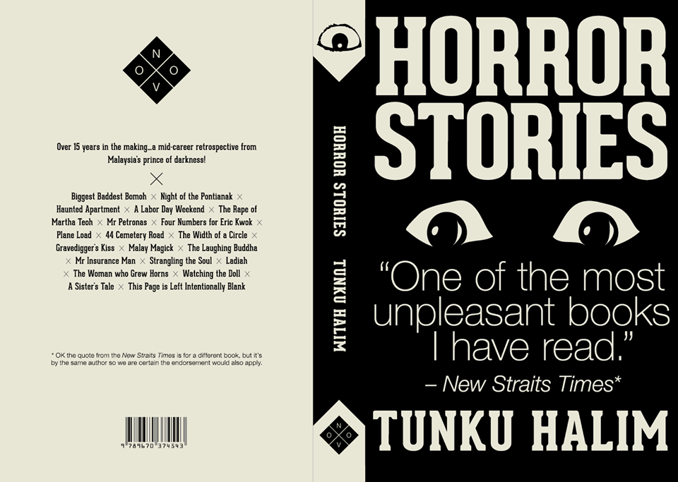 Book Review – Horror Stories by Tunku Halim – Eris Goes To