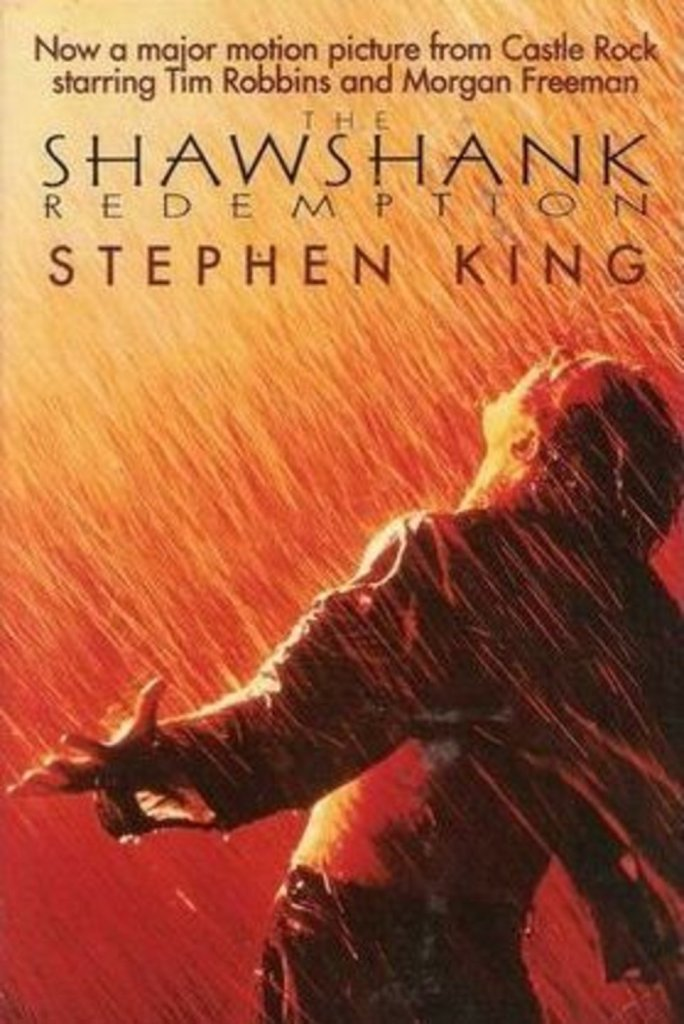 shawshank paperback stephen king for a year