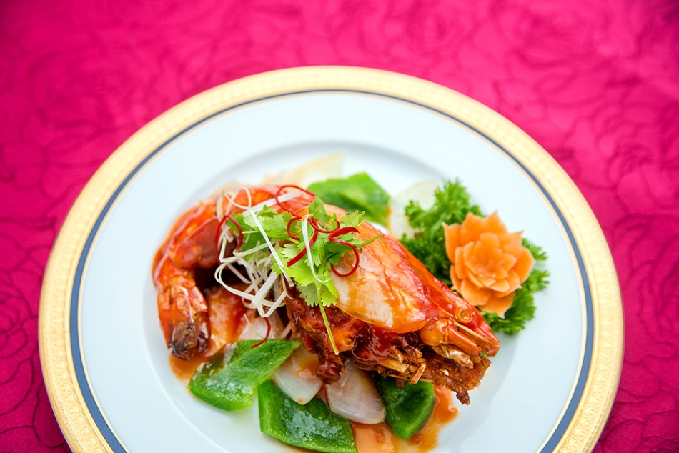 sauteed-freshwater-shrimps-with-roasted-sesame-paste