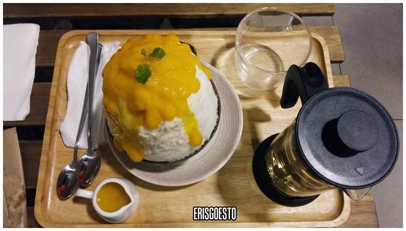 Shaved Ice Treats Mykori Dessert Cafe Bandar Puchong Jaya Eris
